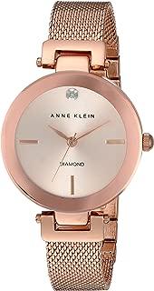 Anne Klein AK/N2472RGRG Analog Quartz Rose Gold Watch