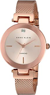 Anne Klein AK/N2472RGRG Analog Quartz Rose Gold Watch