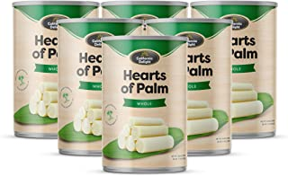 Whole Hearts of Palm- 6 Pack I Gluten Free