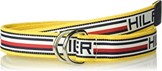 Tommy Hilfiger Men's Military Style Web Belt