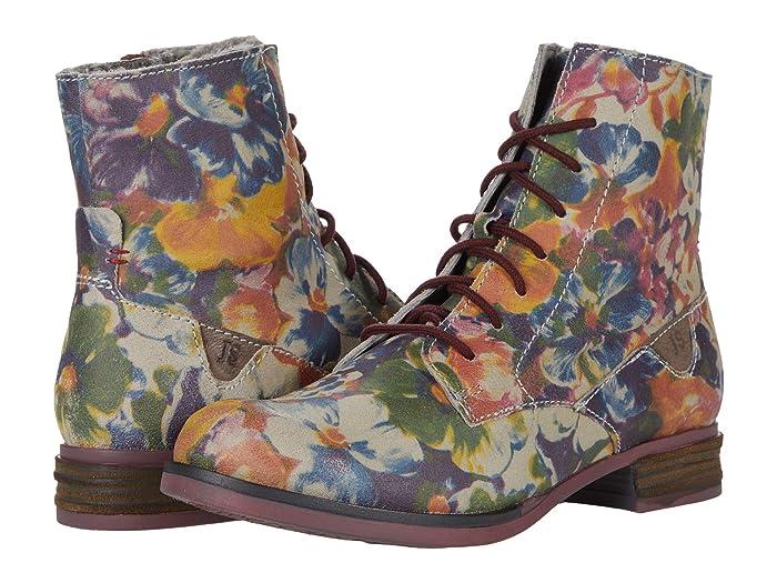 Vintage Boots, Retro Boots Josef Seibel Sanja 01 Multicolor Womens Shoes $165.00 AT vintagedancer.com