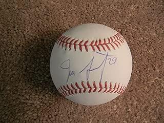 Jeff Samardzija Signed Baseball - official Major league COA - PSA/DNA Certified - Autographed Baseballs