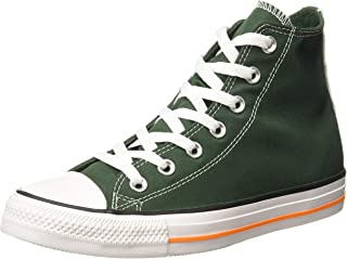 Converse Men's Fir/OrangeRind/White Sneakers-6 (1001696357001)