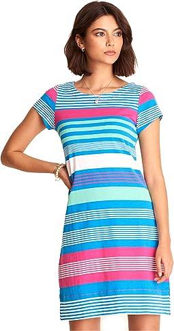 Nellie Dress - Bermuda Stripes