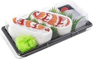 Rainbow Socks, Damen Herren - Sushi Socken Shrimp Nigiri Lustige Geschenk - 1 Paar