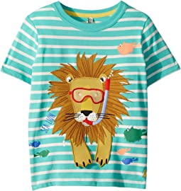 Joules Kids - Sea Lion Applique Jersey Top (Toddler/Little Kids)