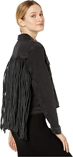 Luna Jacket in Fringe Gold Icon