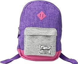 Deep Lavender Crosshatch/Light Grey Crosshatch/Fandango Pink