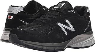 (ニューバランス) New Balance メンズランニングシューズ?スニーカー?靴 M990V4 Black/Silver 11.5 (29.5cm) D - Medium