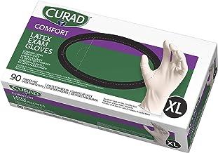 Curad Durable Nitrile Exam Gloves Medium 600 Count