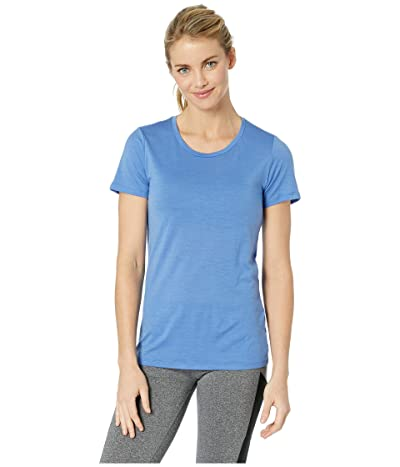 Icebreaker Tech Lite Merino Short Sleeve Low Crewe (Cove) Women