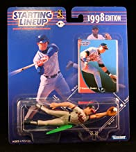 Starting Lineup Chipper Jones / Atlanta Braves 1998 MLB Action Figure & Exclusive Collector Trading Card