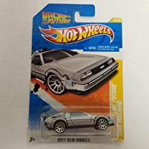 Back to the Future Delorean Time Machine 2011 Hot Wheels New Models 1/64 diecast car No. 18