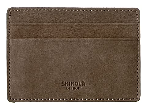 Shinola Detroit ID Card Case Outrigger