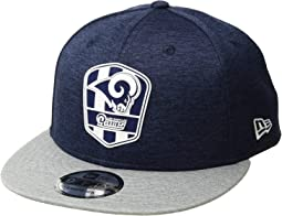 9Fifty Official Sideline Away Snapback - Los Angeles Rams