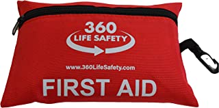 360 Life Safety 92 Piece Travel First Aid Kit - Prepare for The Unforeseen