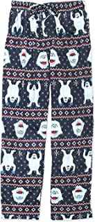 Rudolph the Red-Nosed Reindeer Bumble Mens Christmas Holiday Lounge Pants