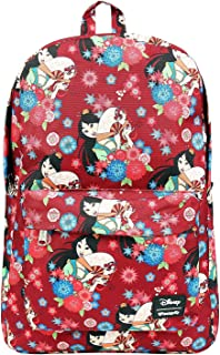 Loungefly Disneys Mulan Floral Print Backpack Standard