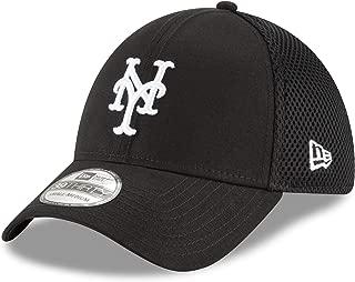 New Era Authentic New York Mets Black Neo 39THIRTY Flex Hat