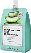 CELEBEAU - Super Moisture Aloe Soothing Gel - 95% Aloe Extract - Maximum Soothing & Hydration for All Sensitive Skin Types...