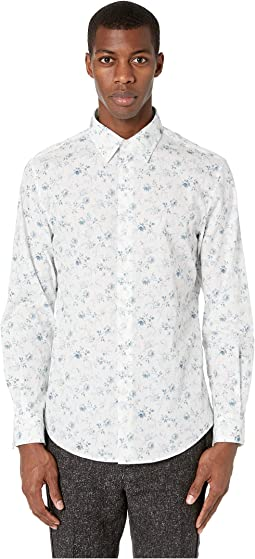 Slim Fit Floral Sport Shirt W194V1