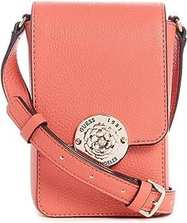 Guess Crossbody Bag For Women, Orange - VG774478