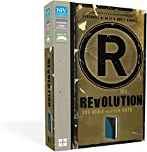 NIV, Revolution: The Bible for Teen Guys, Leathersoft, Blue/Charcoal: Updated Edition