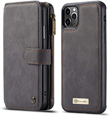 BeyeX iPhone7 & iPhone8 Flip Case Leather Cover Mobile Phone case Premium Business Kickstand Card Holders Fourteen Card Slot