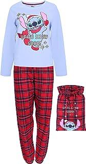 Pijama a Cuadros + Bolsa Lilo & Stitch Disney