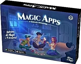 Mikael Montier - Juego de Magia Digital (80 Trucos de Magia) - Magic Apps - Caja con Aplicación Móvil (iOS y Android) para Niños, Adolescentes y Adultos – Magia Profesional Fácil