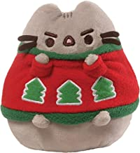 GUND Pusheen Sweater Holiday Stuffed Animal Cat Plush, 4.5