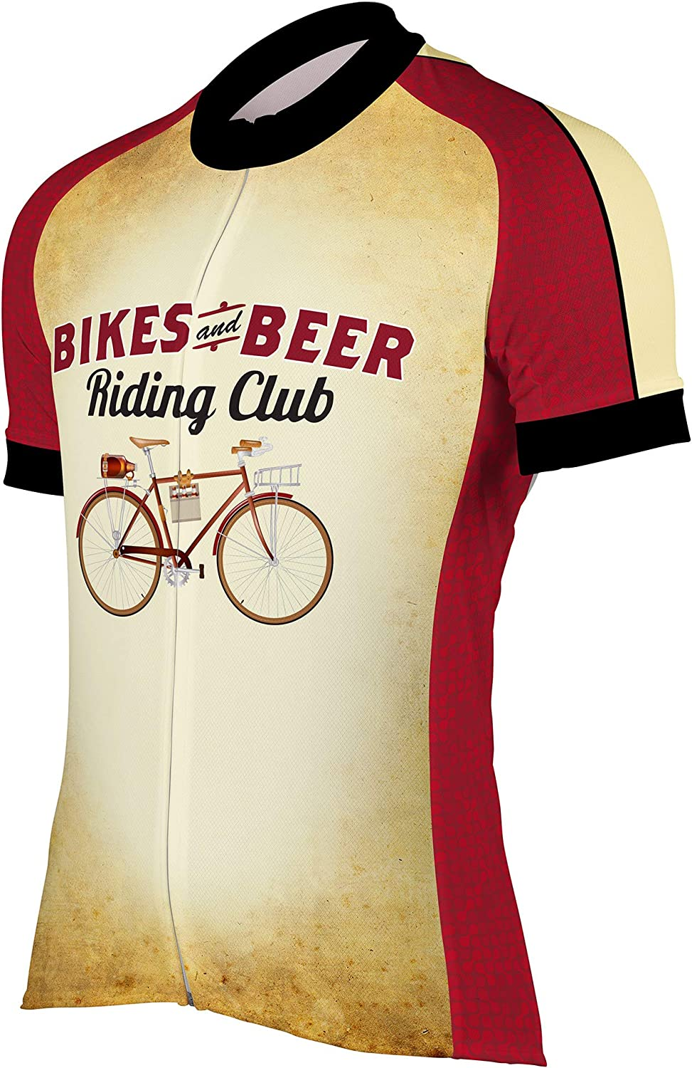 Peak 1 Sports Bikes Beers Riding Club Max Max 47% OFF 81% OFF Short Slee Cycling Men's