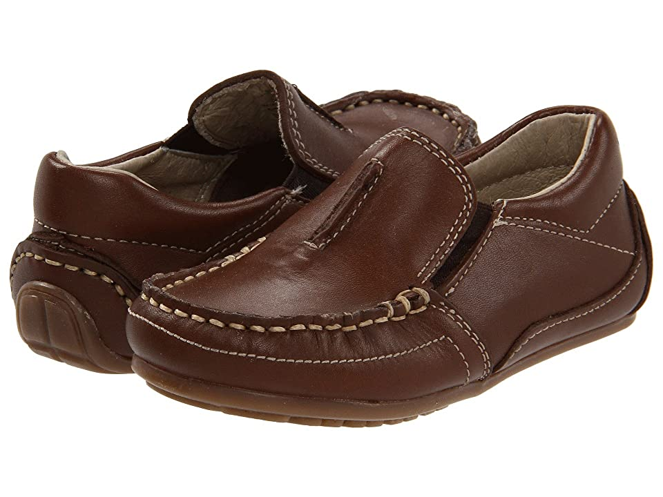 Kid Express Colton (Toddler/Little Kid) (Dark Brown Leather) Boys Shoes