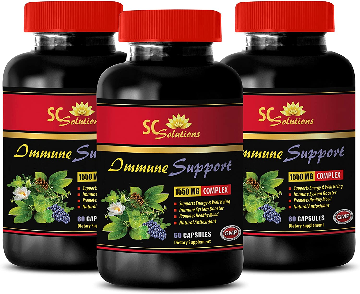 Heart Health Supplements - All items in the store Immune Oliv 1550 Support Complex Mg Beauty products