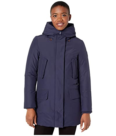Save the Duck Copy 9 Winter Hooded Parka (Navy Blue) Women