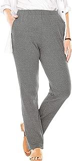Woman Within Women's Plus Size Petite 7-Day Knit Straight Leg Pant