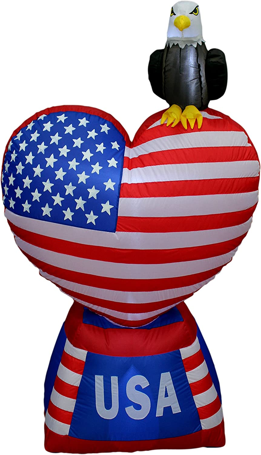 5 Foot Tall Patriotic Independence Day Inflatable Lo discount July 4th of Easy-to-use