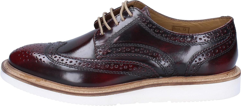 Base London Oxfords-shoes Mens Leather Purple