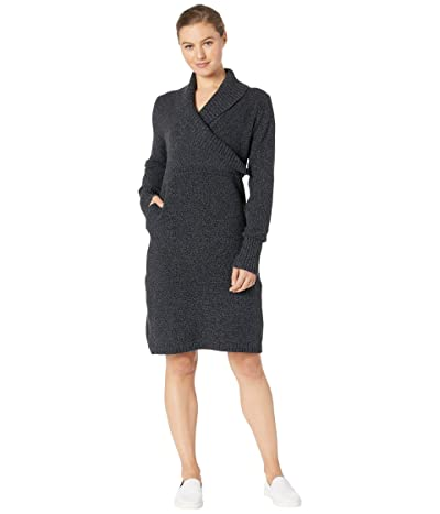 Royal Robbins Frost Sweater Dress (Charcoal) Women