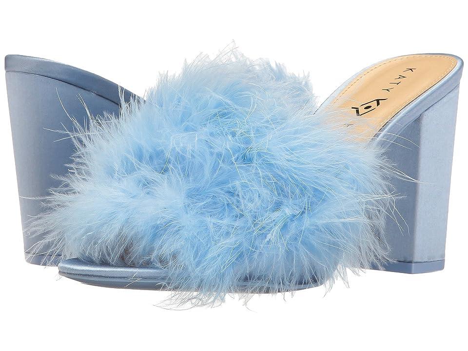 Katy Perry The Bon-Bon (Soft Blue Satin/Feather) Women