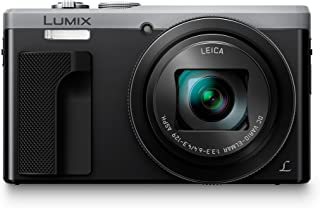 Panasonic Lumix DC-TZ80 - Cámara Compacta de 181 MP (Super Zoom Objetivo F3.3-F6.4 de 24-720mm Estabilizador Híbrido Zoom de 30X 4K WiFi Raw) Color Plata