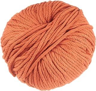 JubileeYarn Bamboo Cotton Chunky Yarn - Burnt Orange - 2 Skeins
