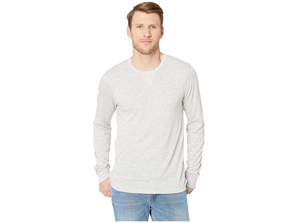 Alternative Long Sleeve Eco Cuffed Tee (Eco Oatmeal) Men