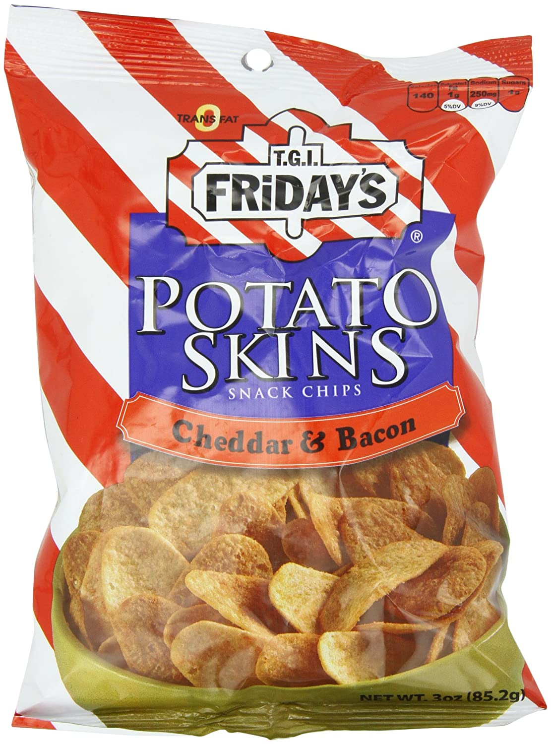 Poore Brothers Tgif Potato A surprise price is realized Skins And 3-Ou Flavor Cheddar Max 47% OFF Bacon