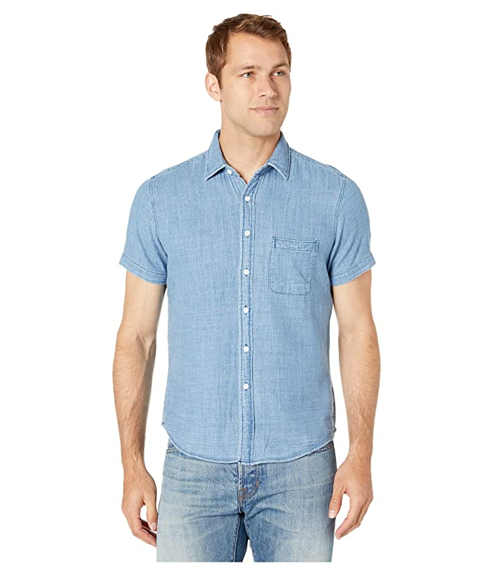 The Normal Brand Indigo Lake Double Cloth Shirt At Zappos.com