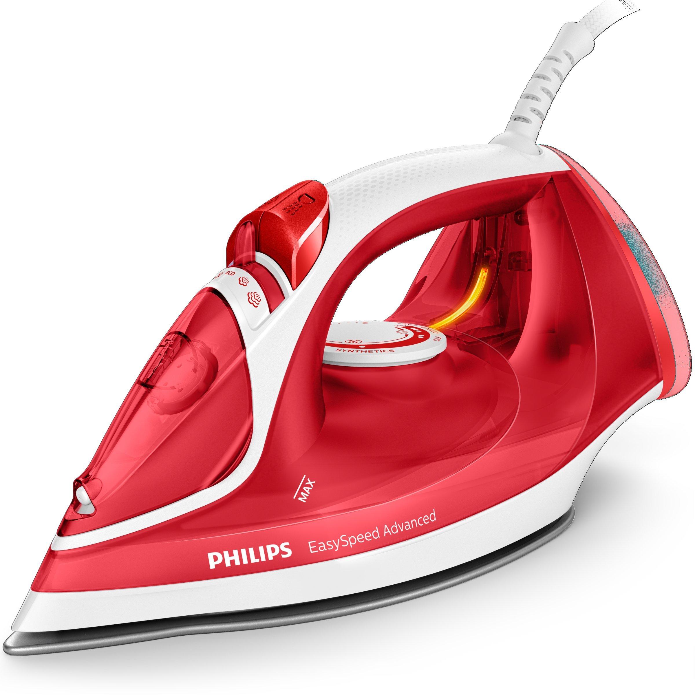 Philips EasySpeed Adv GC2672/40 - Plancha Ropa Vapor, 2300 W, Golpe Vapor 180 g, Vapor Continuo 35 g, Suela Ceramica, Antical Integrado: Amazon.es: Hogar