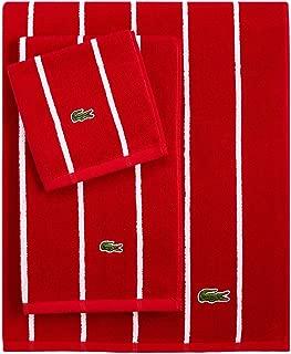Lacoste Sport Stripe Wash Towel, Formula 1