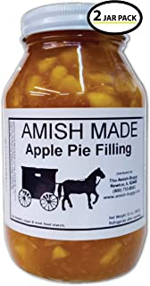 Amish Pie Filling Apple – 2 Jars- 32 Oz