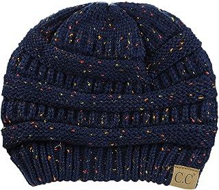 1453ea0cb851 C.C Trendy Warm Chunky Soft Stretch Cable Knit Beanie Skully
