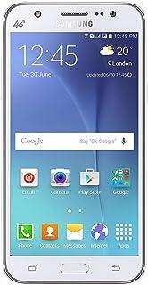 Samsung Galaxy J7 J700M 16GB Dual Sim LTE Unlocked Phone - Retail Packaging - White (International Version)